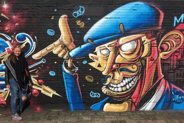 Graffitiwall Antwerpen