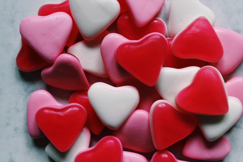 jubileum cadeau jubileumcadeau hartje hartjes snoep liefde