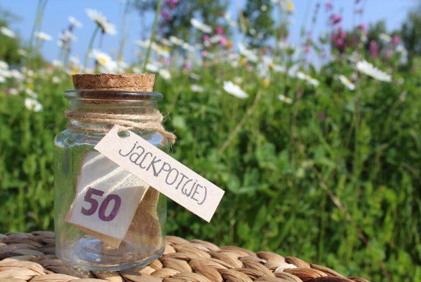jackpotje geld geldcadeau potje