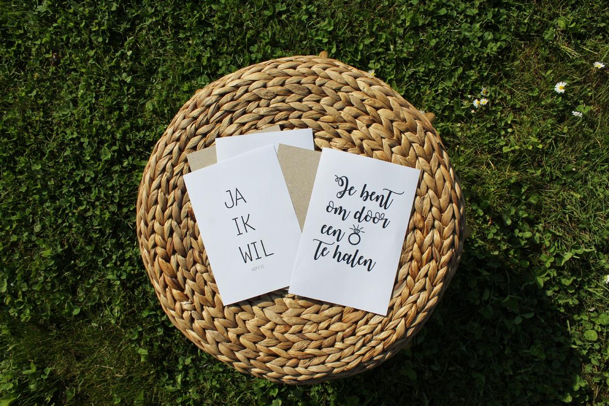 wenskaart wenskaarten kaarten verjaardagskaart diy zelf maken trouwkaart