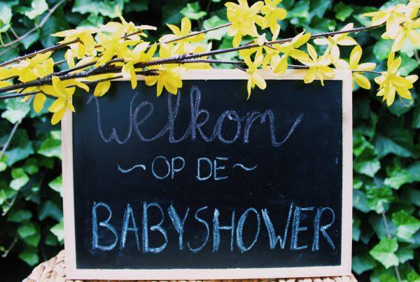 babyshower baby roze blauw