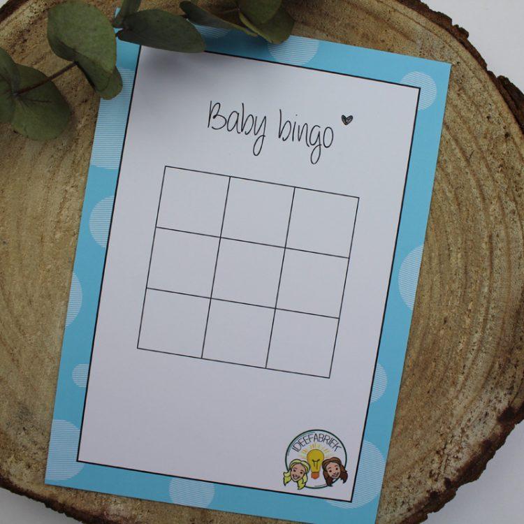baby bingo blauw