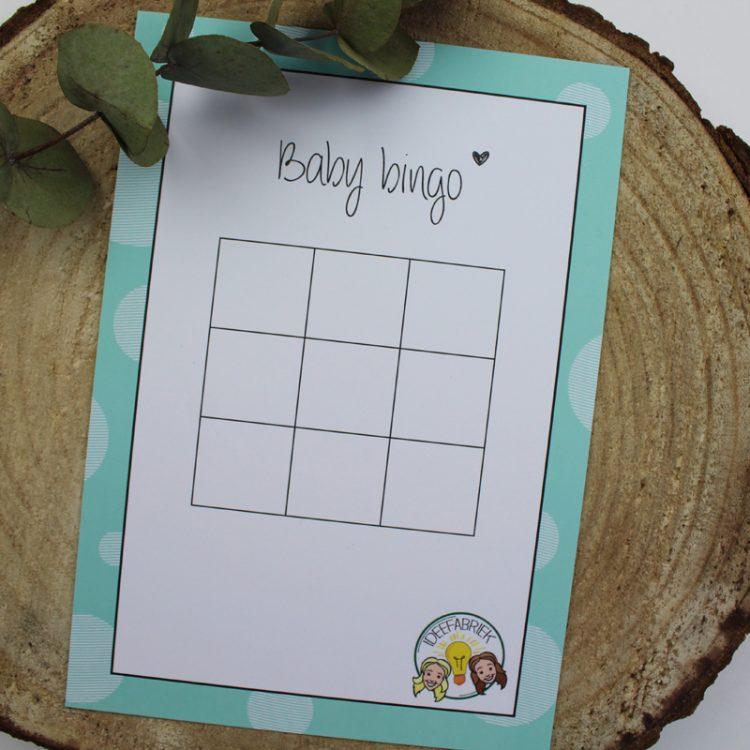 baby bingo groen