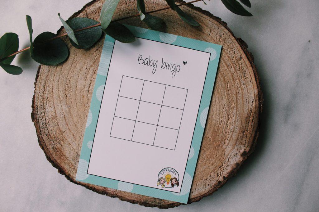 baby bingo groen ideefabriek