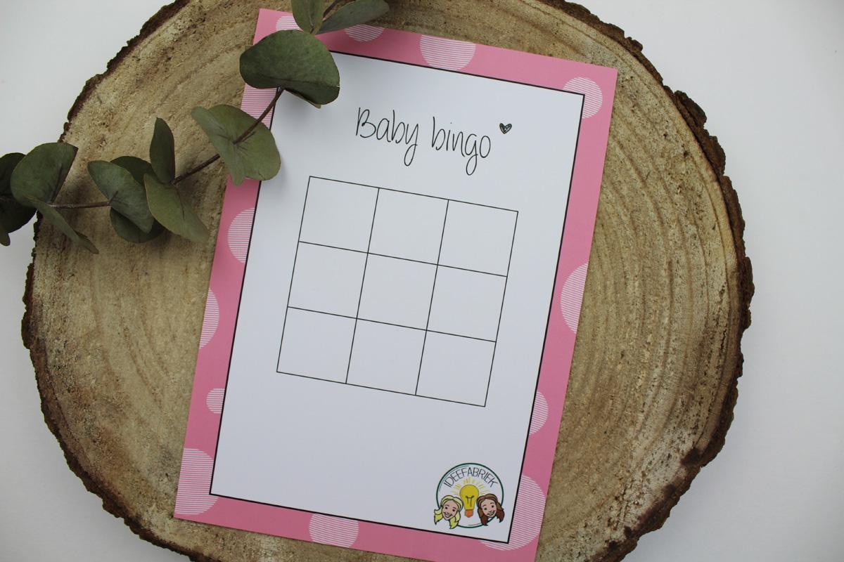 baby bingo roze