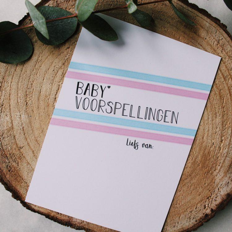 babyvoorspellingen ideefabriek