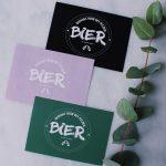 bedankt voor het plezier bier ideefabriek