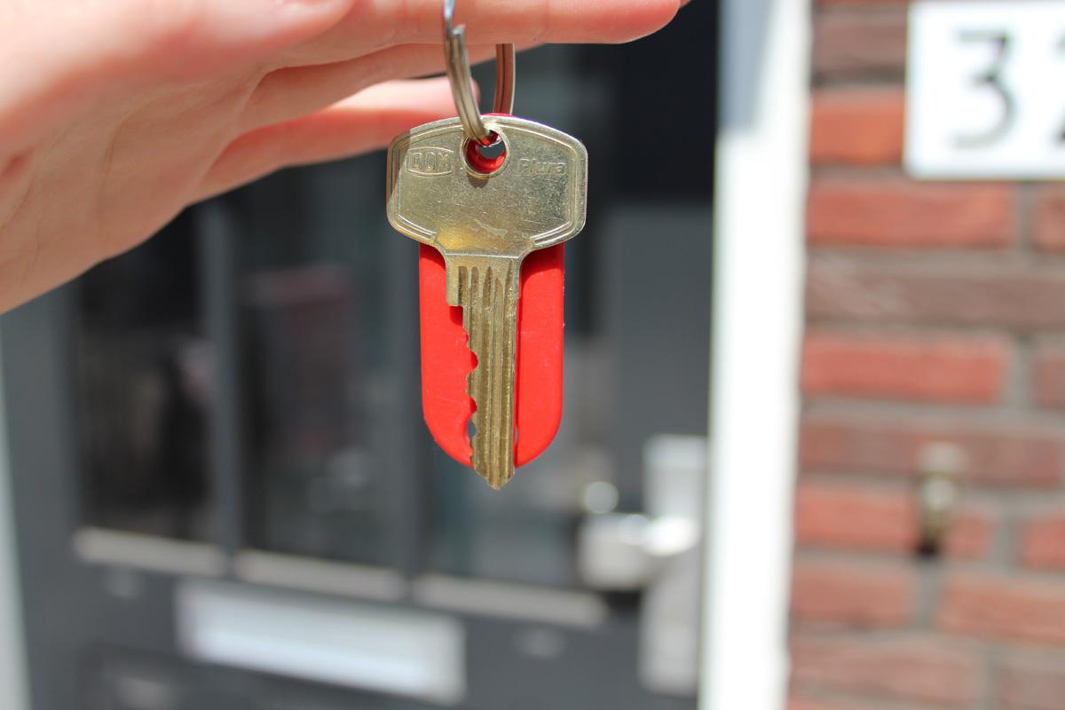sleutel huis betonparty