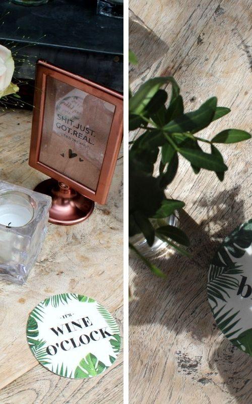 ideefabriek bierviltjes ontwerpen studentendrukwerk bruiloft deco