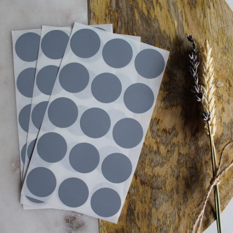 krassticker zilver grijs krasstickers
