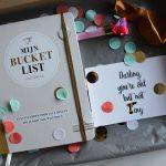 bucketlistboek cadeau cadeaupakket