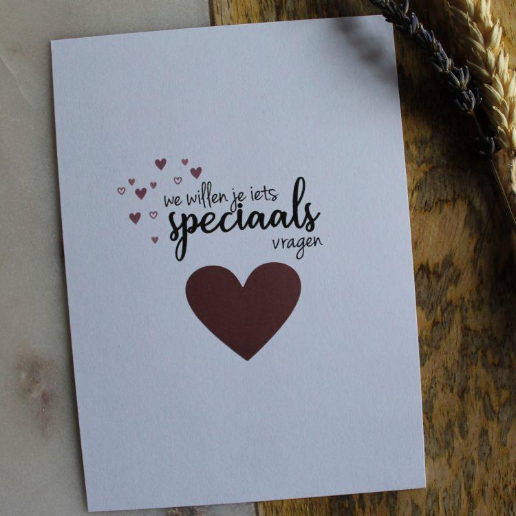 kraskaart getuige vragen bruiloft ideefabriek wedding getuigen