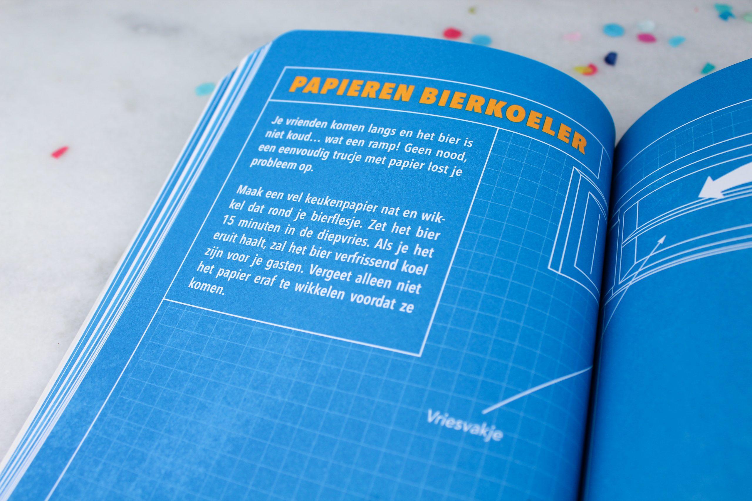 life hacks cadeau man vader vaderdag boek origineel ideefabriek