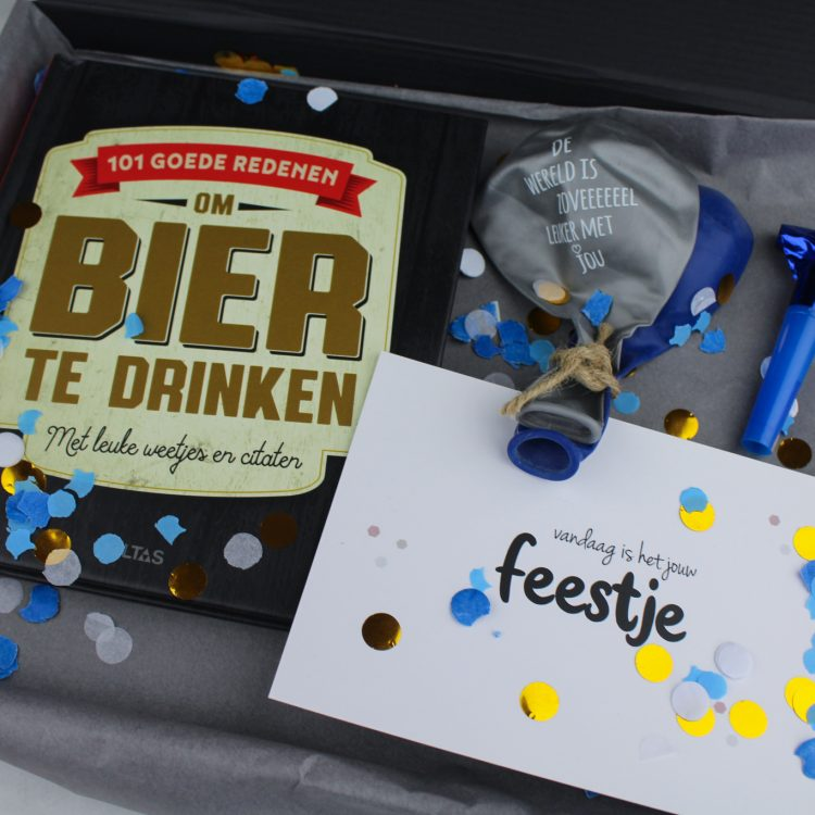 vaderdag origineel cadeaupakket vader cadeau bier boek ideefabriek