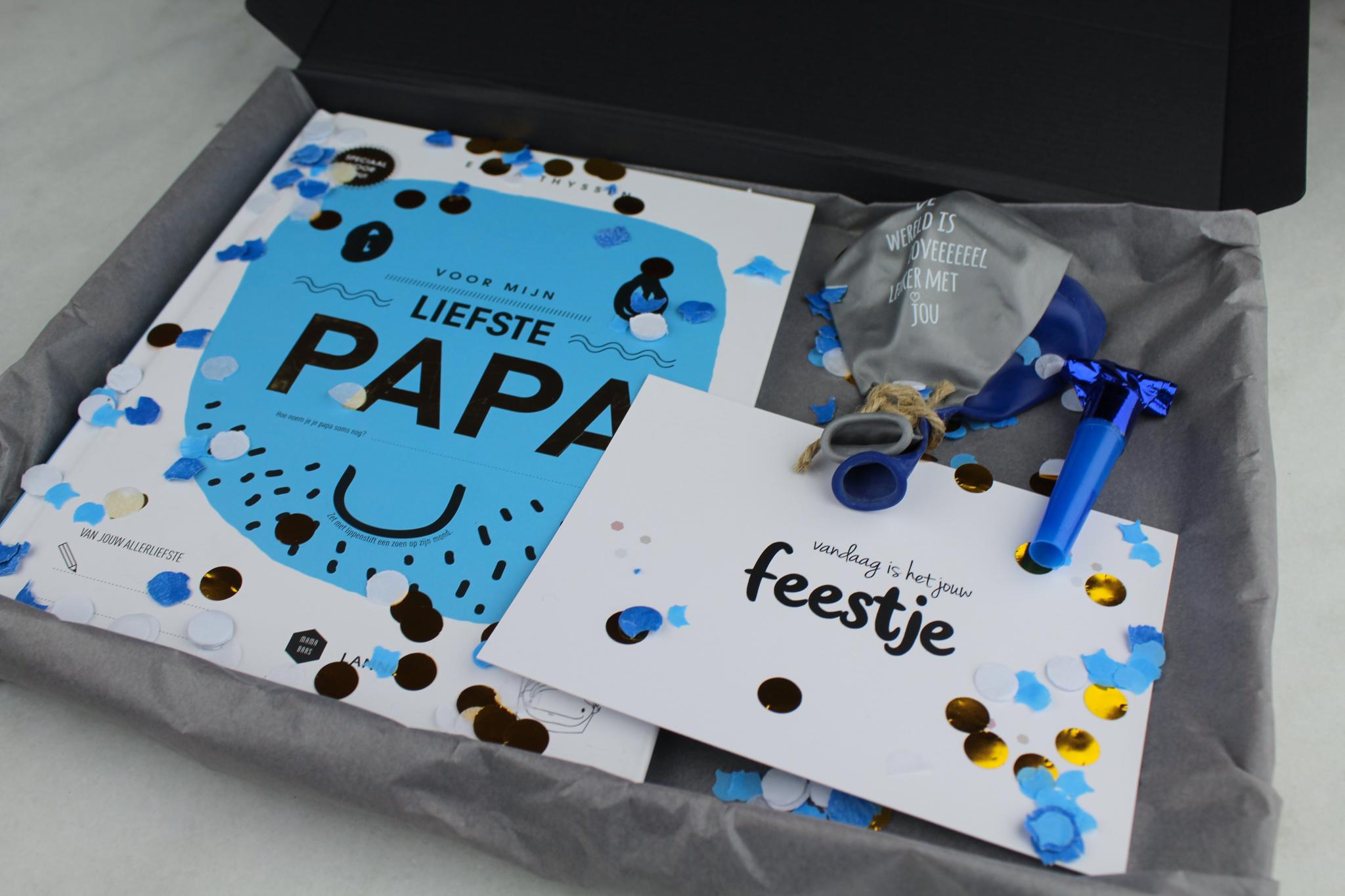 vaderdag origineel cadeaupakket vader cadeau kinderen ideefabriek1