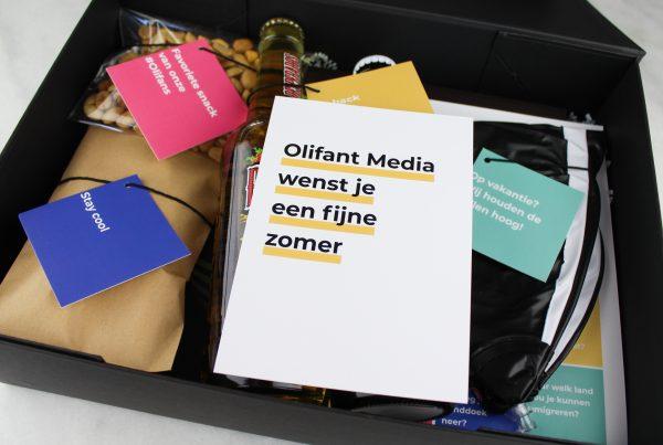 Bedrijfspakketten op maat Ideefabriek Olifant Media inhoud