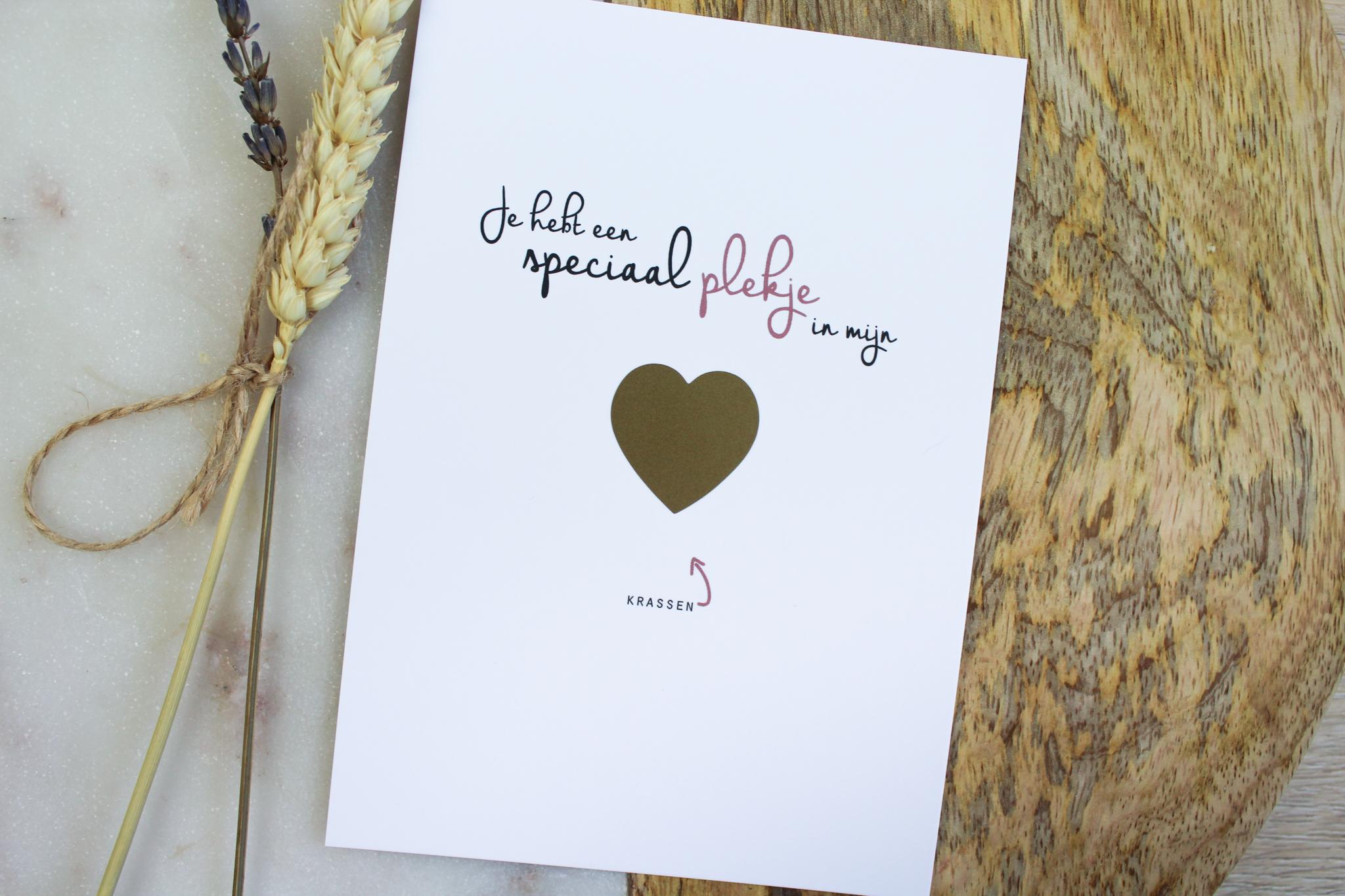 kraskaart getuige vragen bruiloft ideefabriek goud