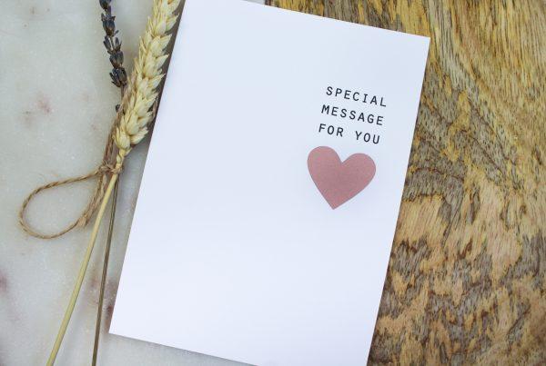 kraskaart ik ben zwanger zwangerschapsaankondiging special message rosegoud ideefabriek