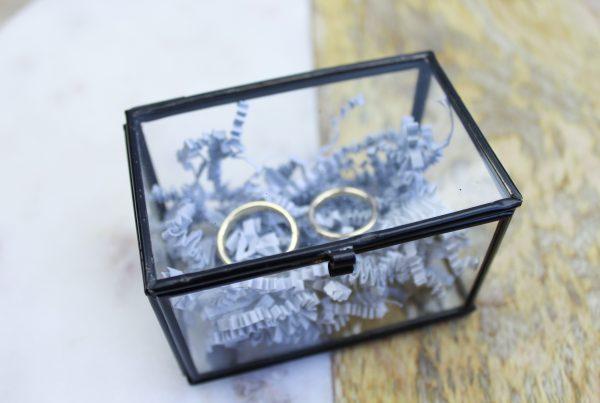 voorbeeld origineel ringenbox trouwringen trouwring glazen box ideefabriek