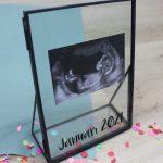 glazen fotolijst personaliseren voorbeeld ideefabriek cadeau gift