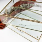 glazen box messing gepersonaliseerd ideefabriek cadeau persoonlijk boxen housewarming herinneringsbox
