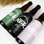 bedankt voor het plezier bier ideefabriek trouwbedankje trouwen roze groen zwart
