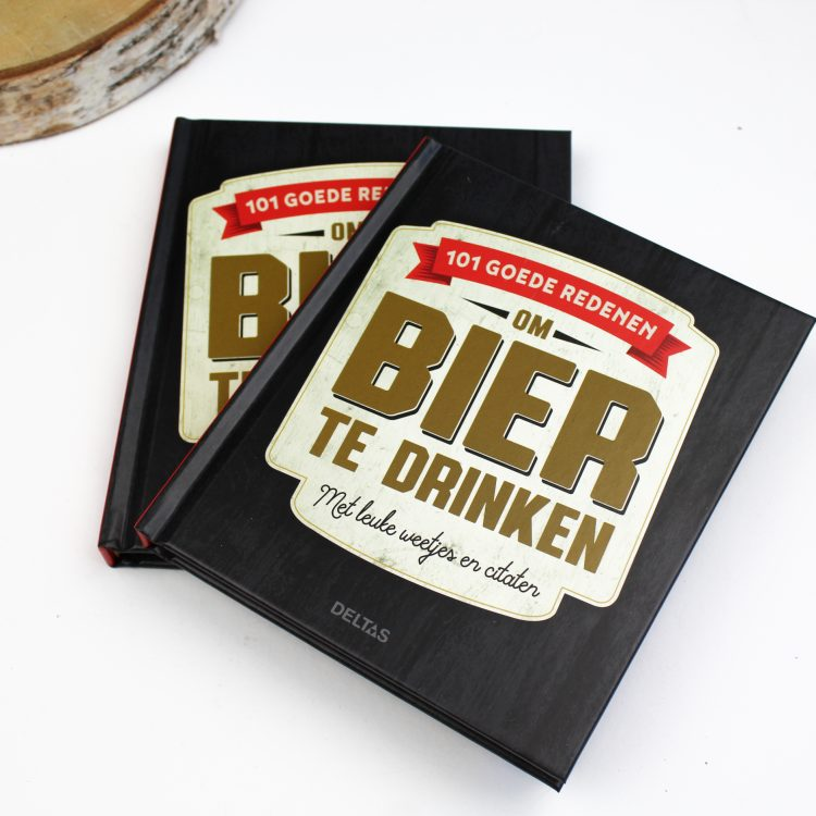 cadeau boek bier bierliefhebber ideefabriek