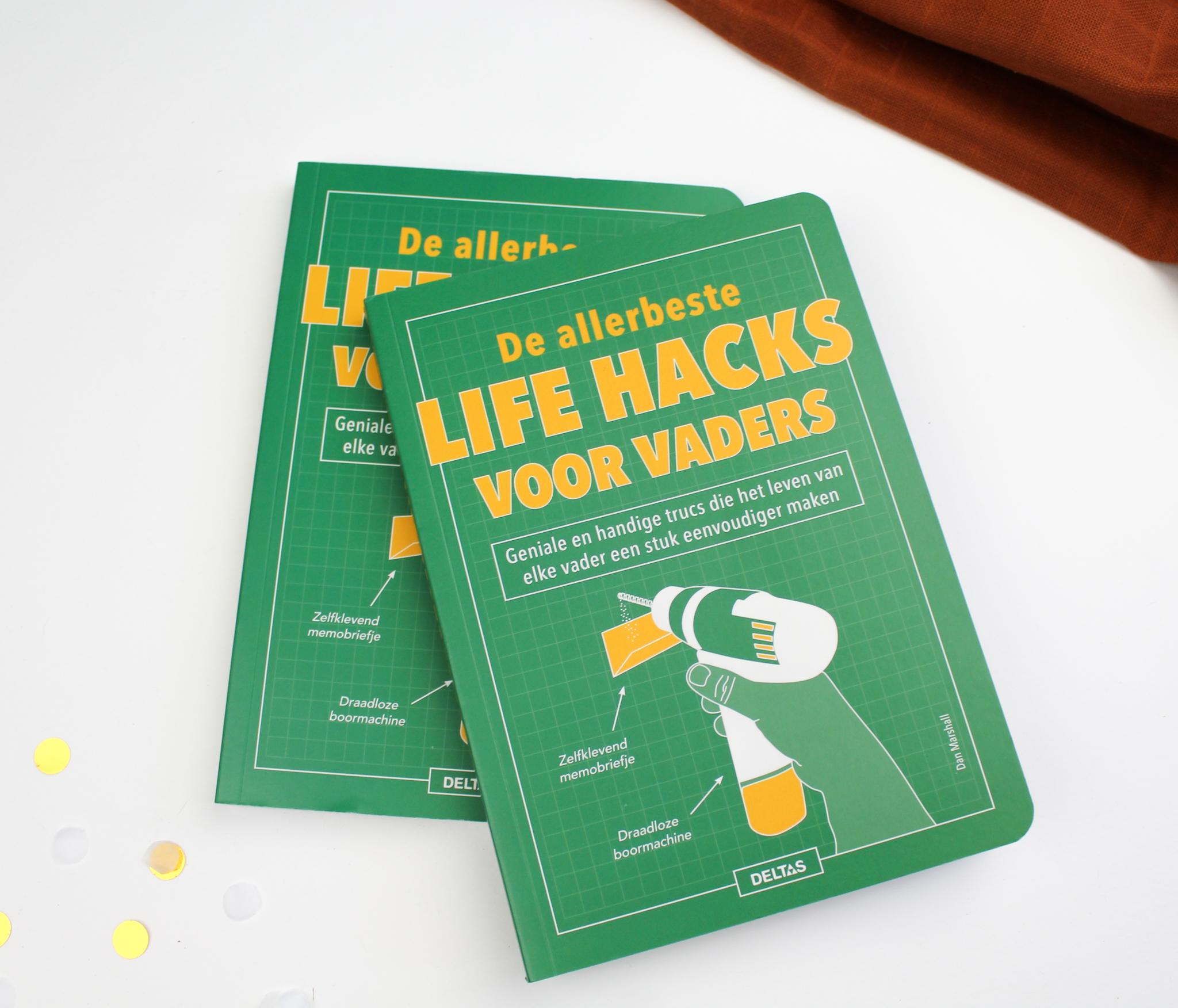 cadeau lifehacks voor vaders boek ideefabriek verjaardag lifehack