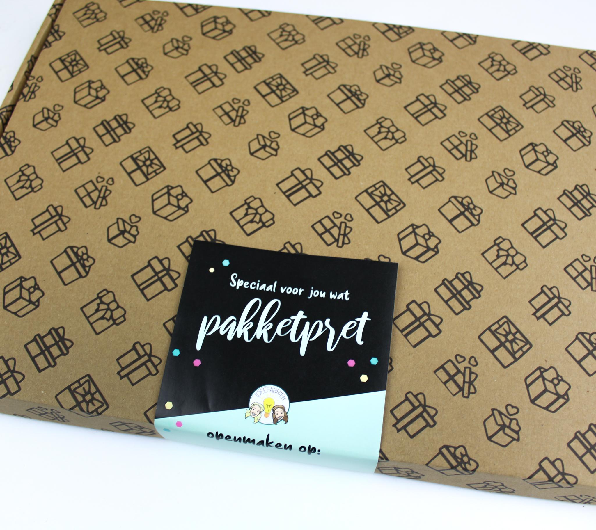 cadeaupakket cadeaupakketten ideefabriek brievenbuspakket