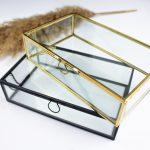 glazen box goud zwart ideefabriek gepersonaliseerd messing