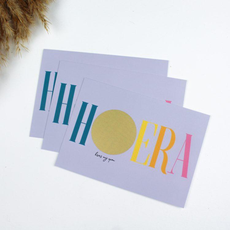 kraskaart kraskaarten hoera cadeau verjaardag ideefabriek onthulling