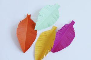 diy papieren veren ideefabriek slinger 3