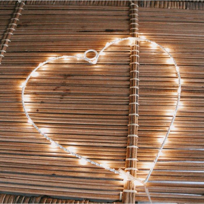 Hart led lamp ideefabriek kraamcadeau babykamer kinderkamer bruiloft 1